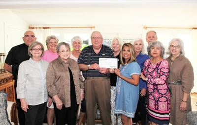 Historical Foundation receives donation