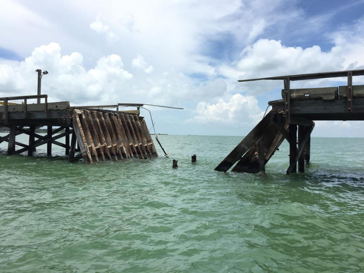 Copano fishing pier closed for good due to distressed for Copano bay fishing