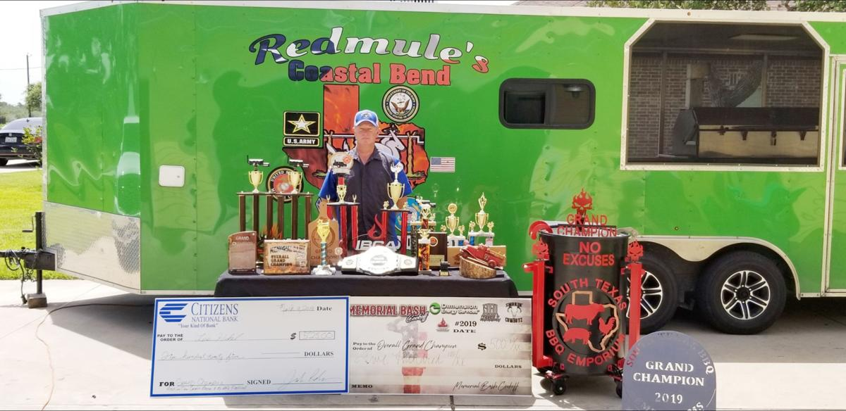 Sinton resident Hickel is the IBCA top ranked barbecue champ and plans on keeping the top spot