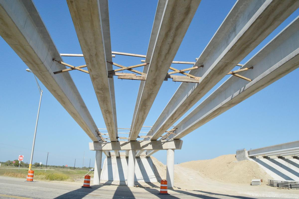 Beam me up, sinton: Overpass hits milestone