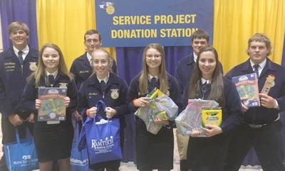 Karnes City FFA members attend leadership conference