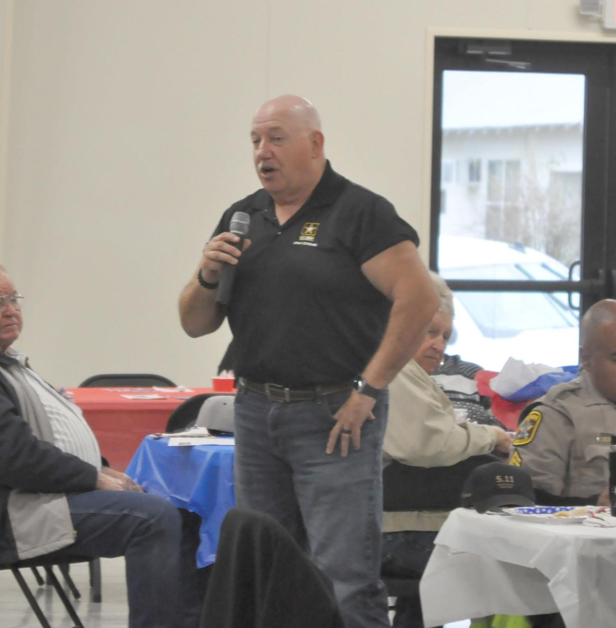 Veterans honored during 2nd Friday Breakfast event