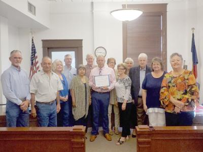 LOC receives distinguished service award from Texas Historical Commission