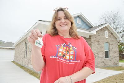 Texas GLO builds 2,000 homes, several in San Pat