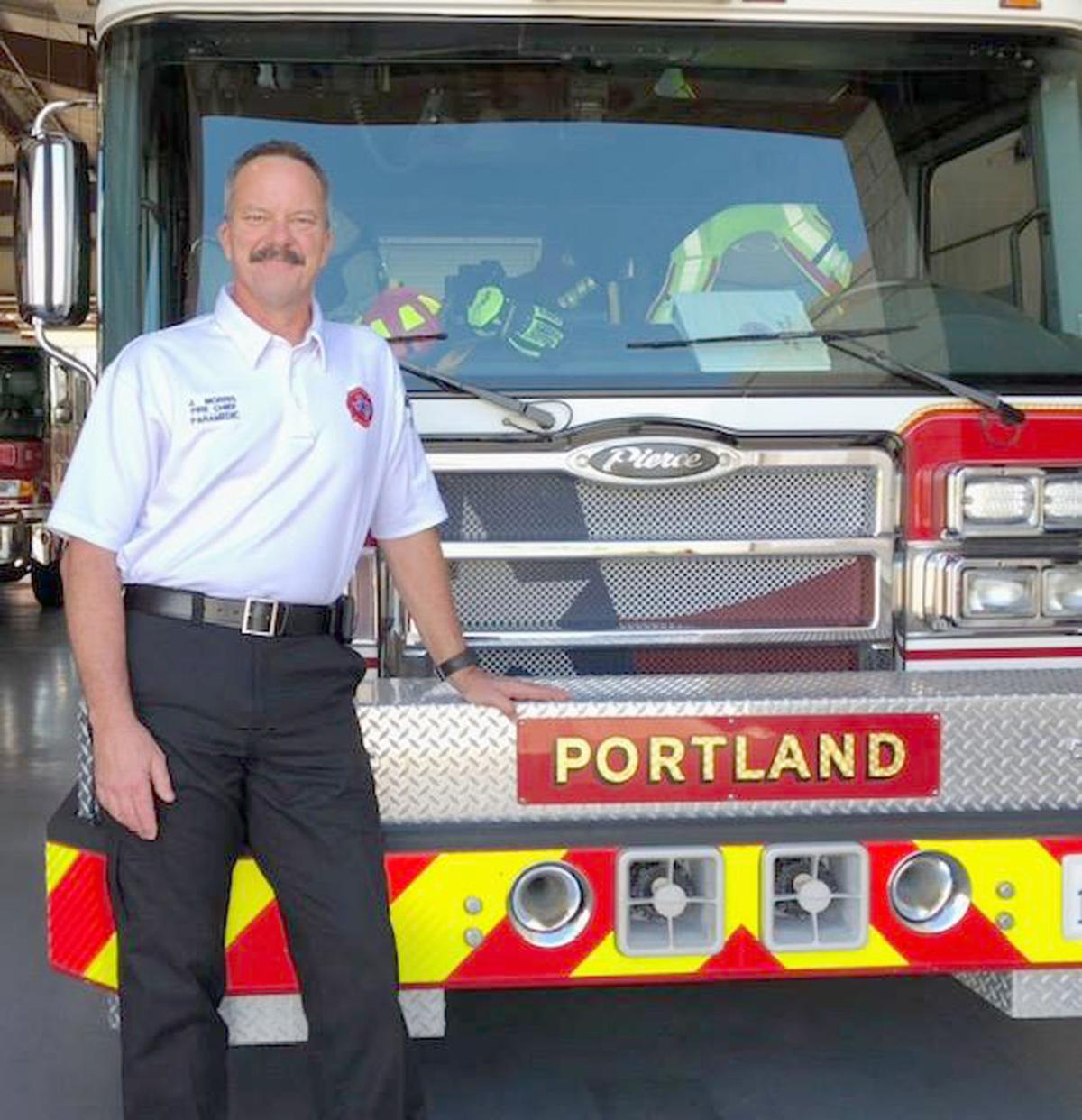 Portland fans flames for new fire chief