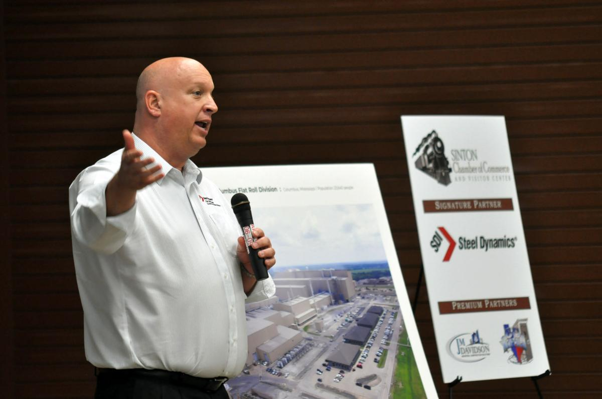 State of city luncheon discusses future of Sinton, steel plant
