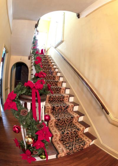 Berclair Mansion decked out for Christmas season
