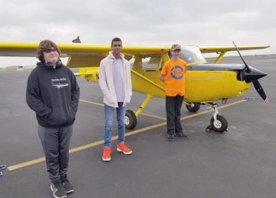 Karnes City aviation class takes to air