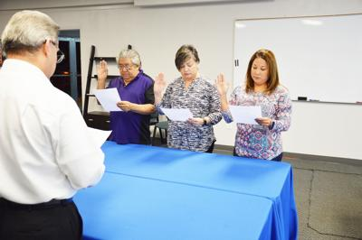 Mathis EDC welcomes back board members for second term