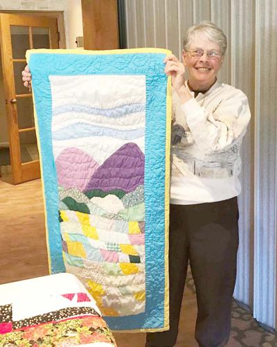 BAA hears from 40-year quilter
