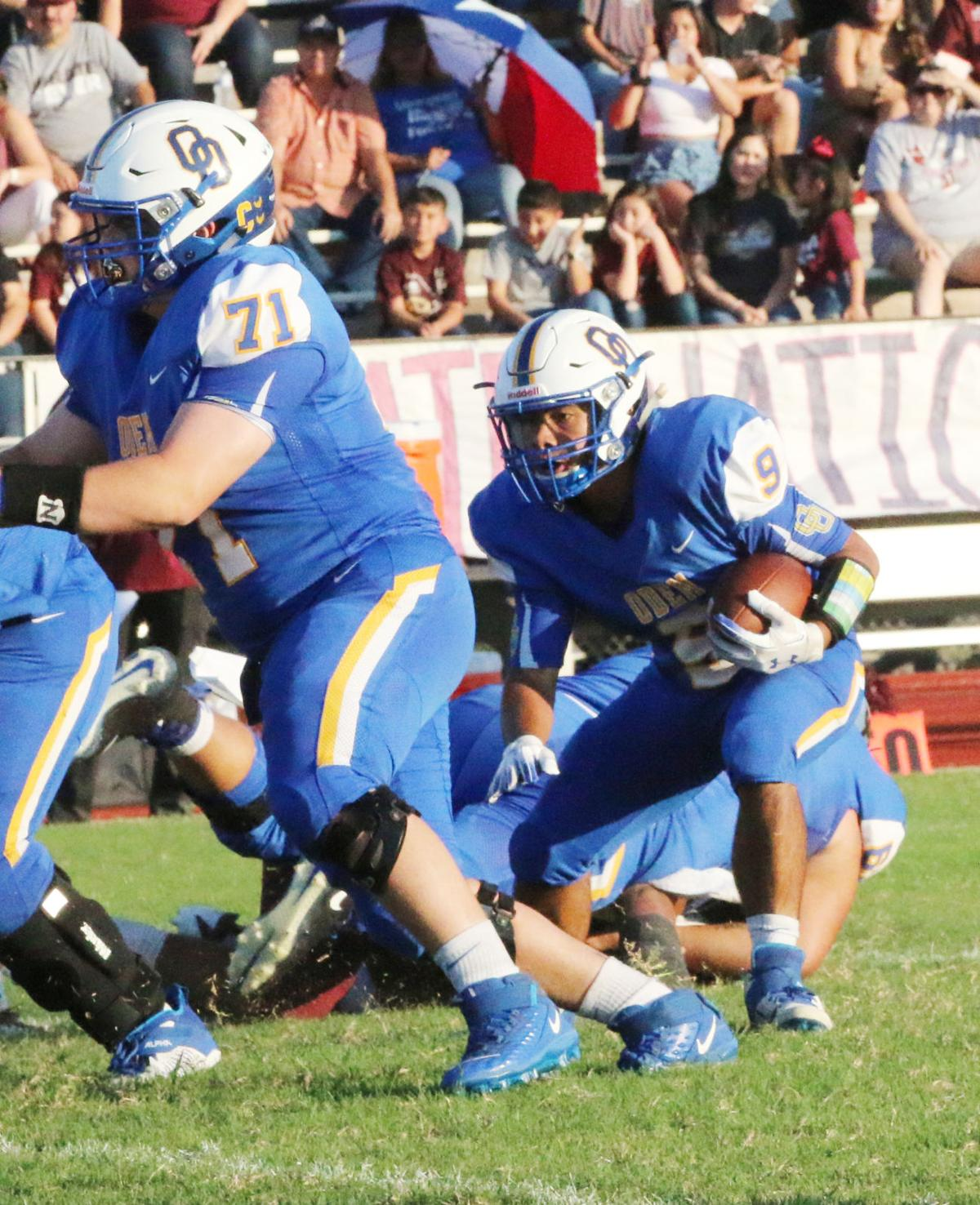 Odem fights off Mathis for win