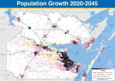 CC Metropolitan Planning Organization forecasts major job, population numbers in the coming years