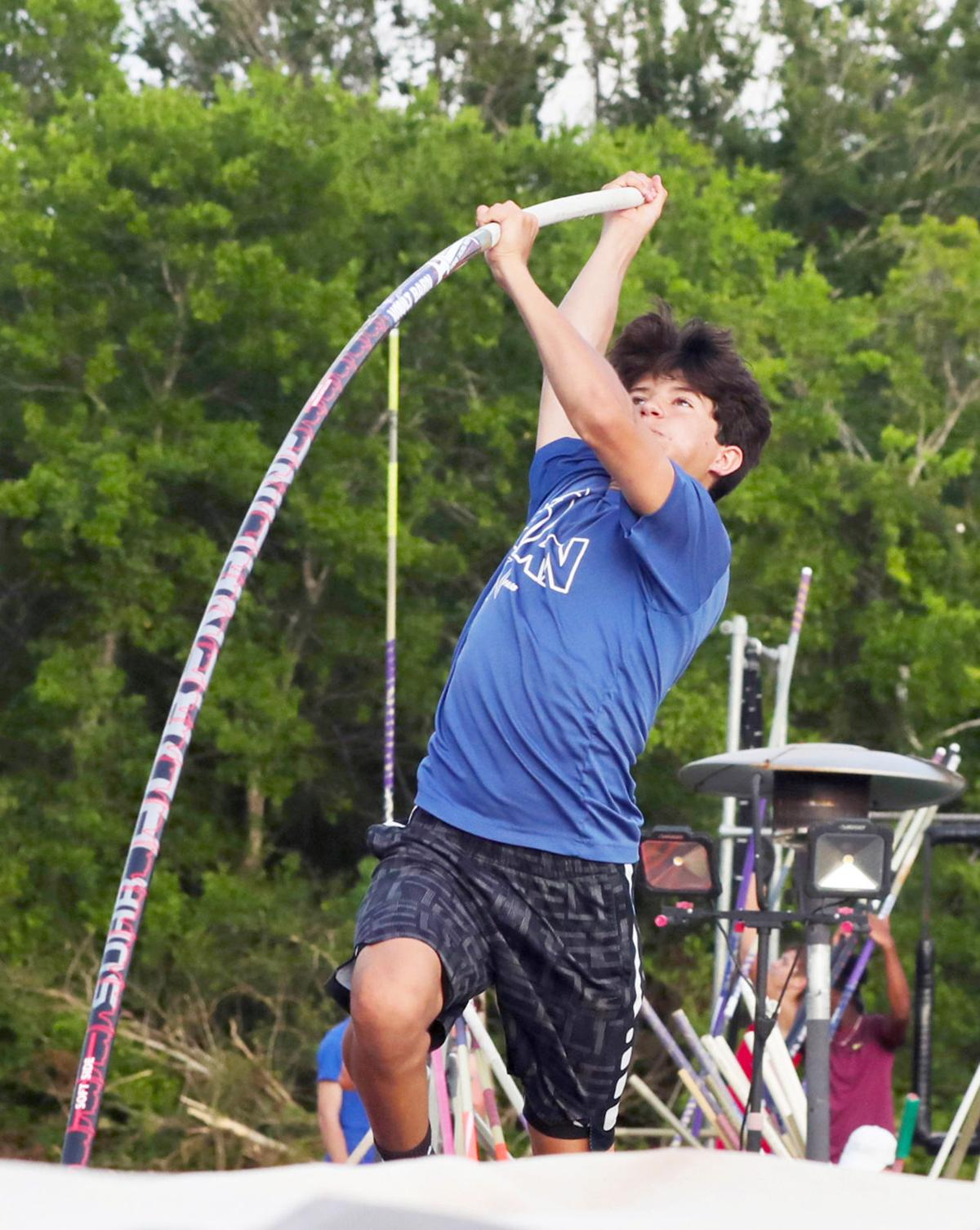 Vaulters set personal records at tune up competition