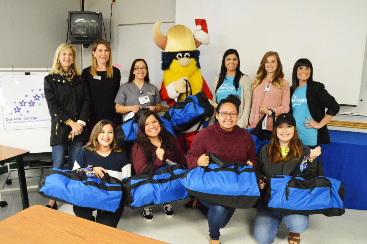 Del Mar students deliver hope to foster children this season