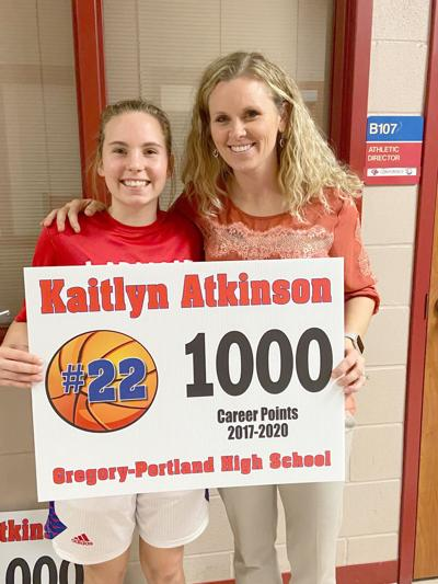 Atkinson reached milestone for Ladycats