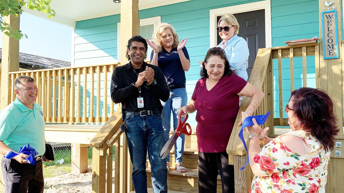 Two Coastal Bend families get gift of home through CBDRG