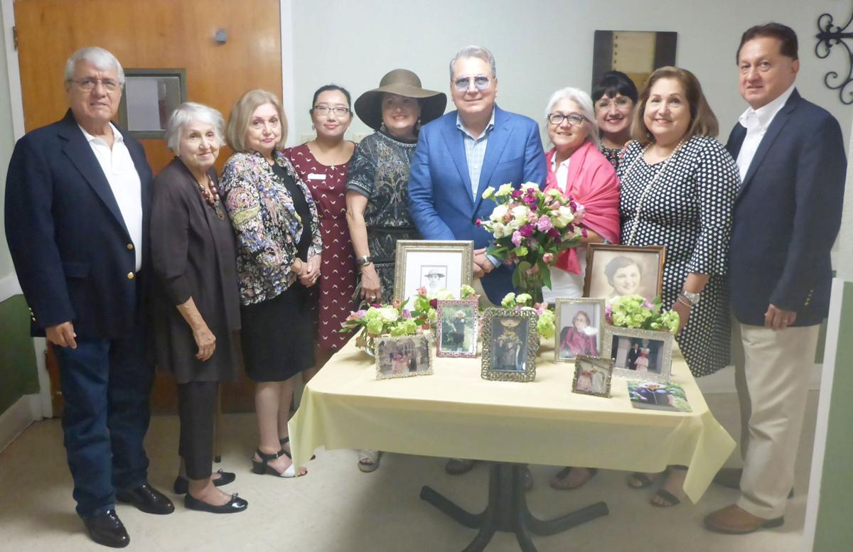 Ramírez family dedicates hospice room in memory of late mother