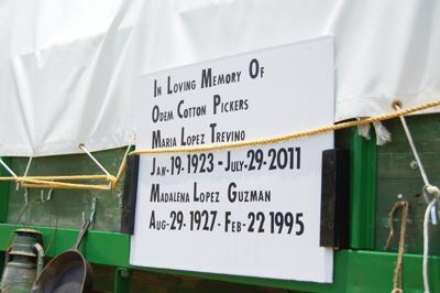 Odem family pays tribute to late cotton pickers