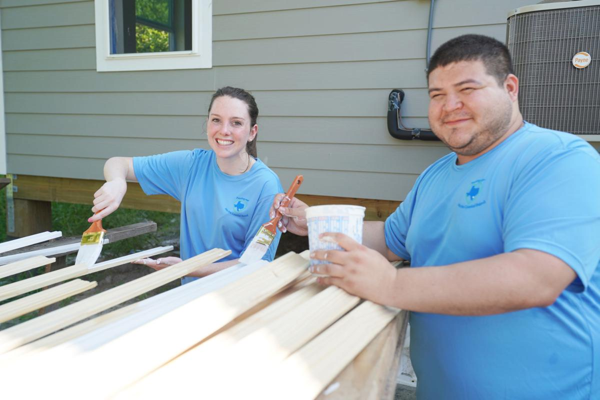GCGV employees volunteer with Disaster Recovery Group to help San Pat County families