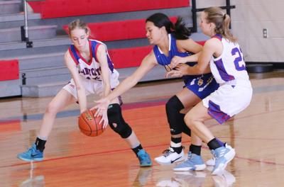 G-P Ladycats host inaugural tournament in Wildcat Gym