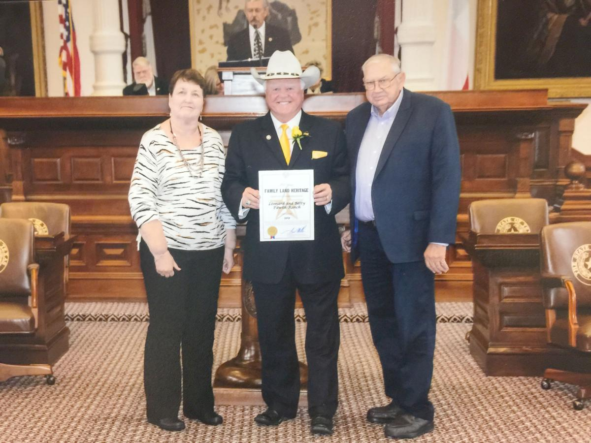 Pawliks honored with Family Land Heritage Distinction