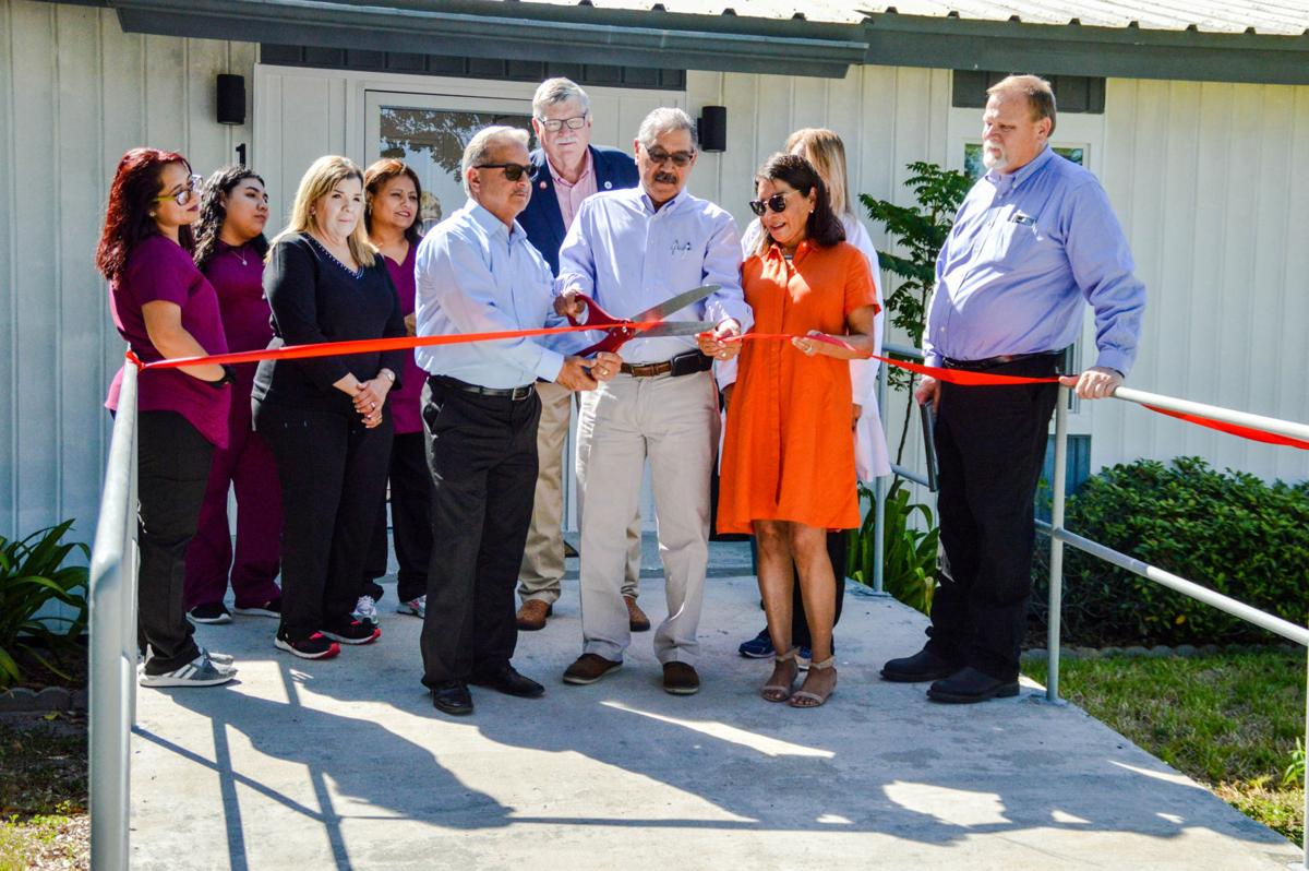 Community welcomes new clinic, doctor to Mathis