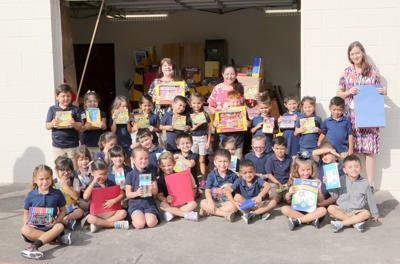 Wal-Mart supplies St. Mary's after-school, art programs
