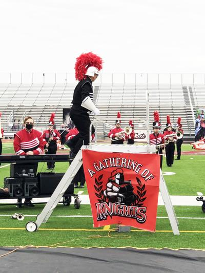 Mighty Bulldog Band competes at area