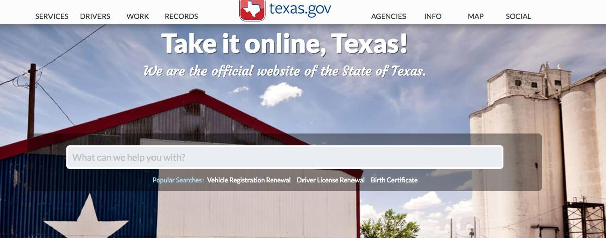 Texas Offers More Personalization With Enhanced Website News