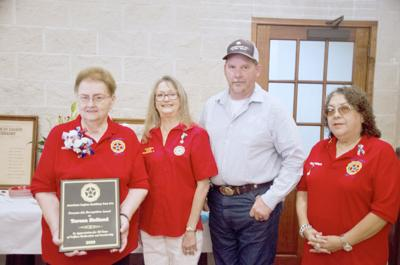 Auxiliary honors Holland for 50 years of service
