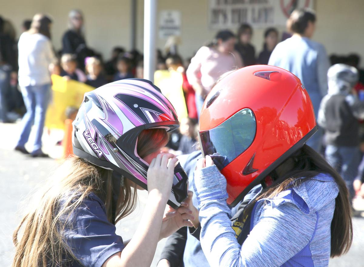 St. Mary's students learning hands-on with STEM project