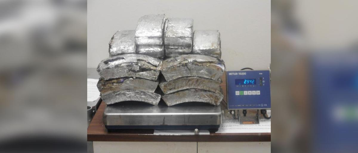 18-year-old woman arrested at Texas-Mexico border with $1.3 million in meth concealed in her vehicle's tires