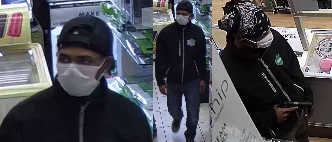 VIDEO: Austin police seeking public's assistance identifying suspect in two recent commercial armed robberies