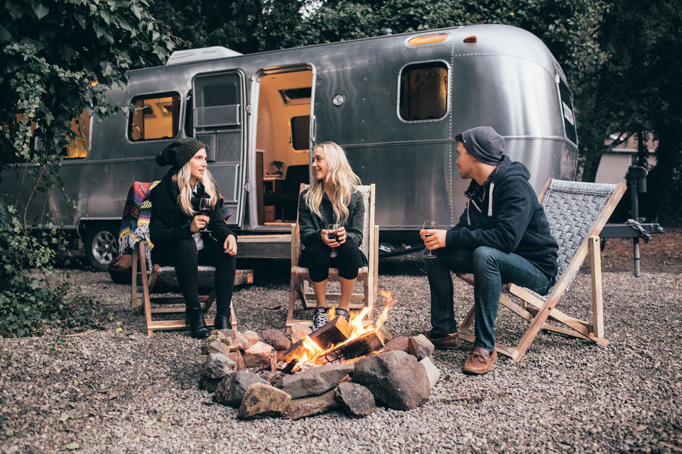 Wine Country Camping in High Style