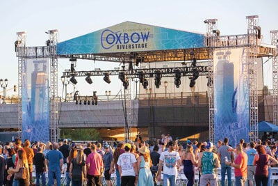 Take Me to the River: Napa's Oxbow RiverStage