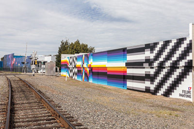 Art Along the Napa Valley Wine Train Tracks