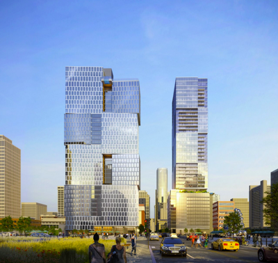 Image released for two Giarratana towers