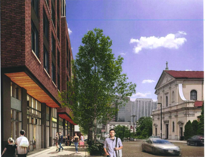 West End site eyed for 25-story tower