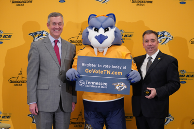 Preds partner with Secretary of State for 'Your Vote Matters' campaign