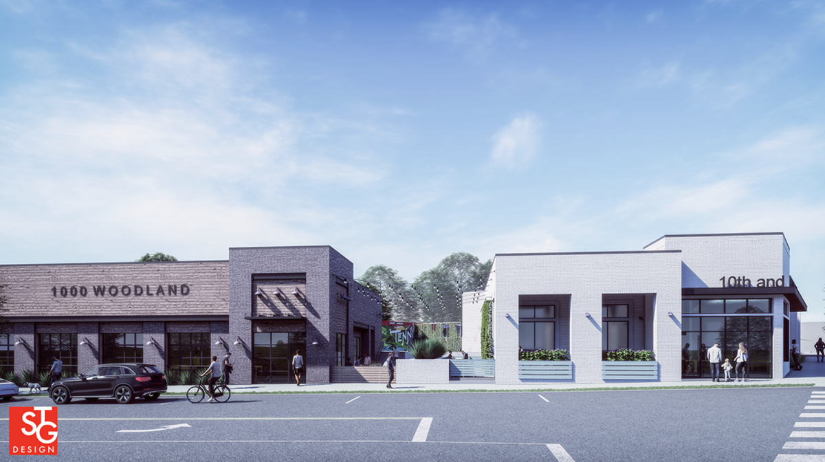 Five Points site eyed for two restaurant buildings