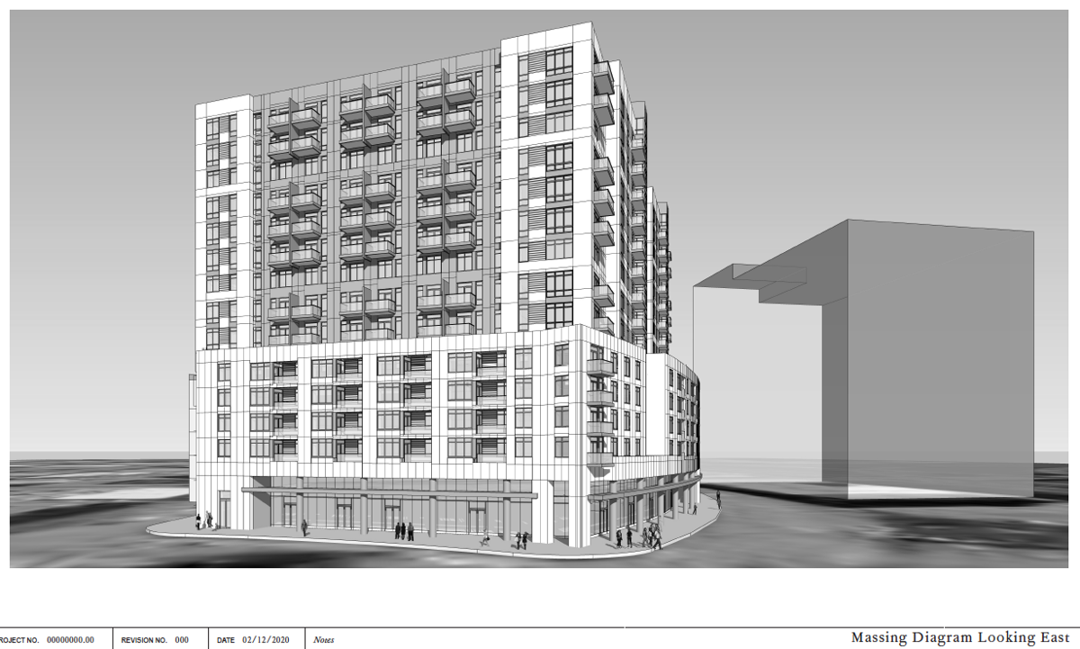Mixed-use building eyed for The Gulch