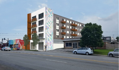 Image released for hotel planned for east side