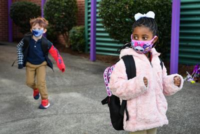 Kids masking