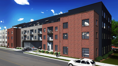Work starts on east side condo project