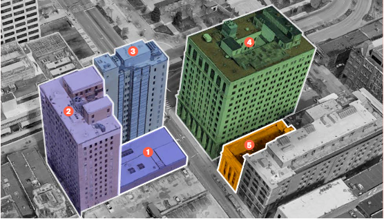 Hotel addition eyed for historic downtown building