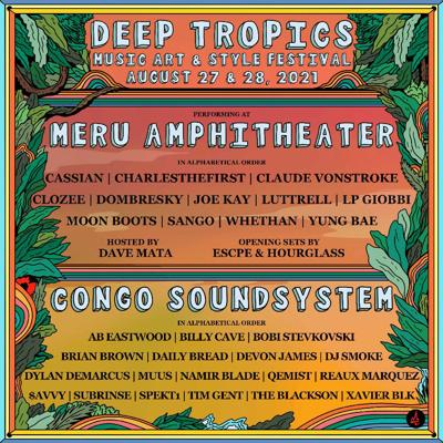 Deep Tropics poster 2021