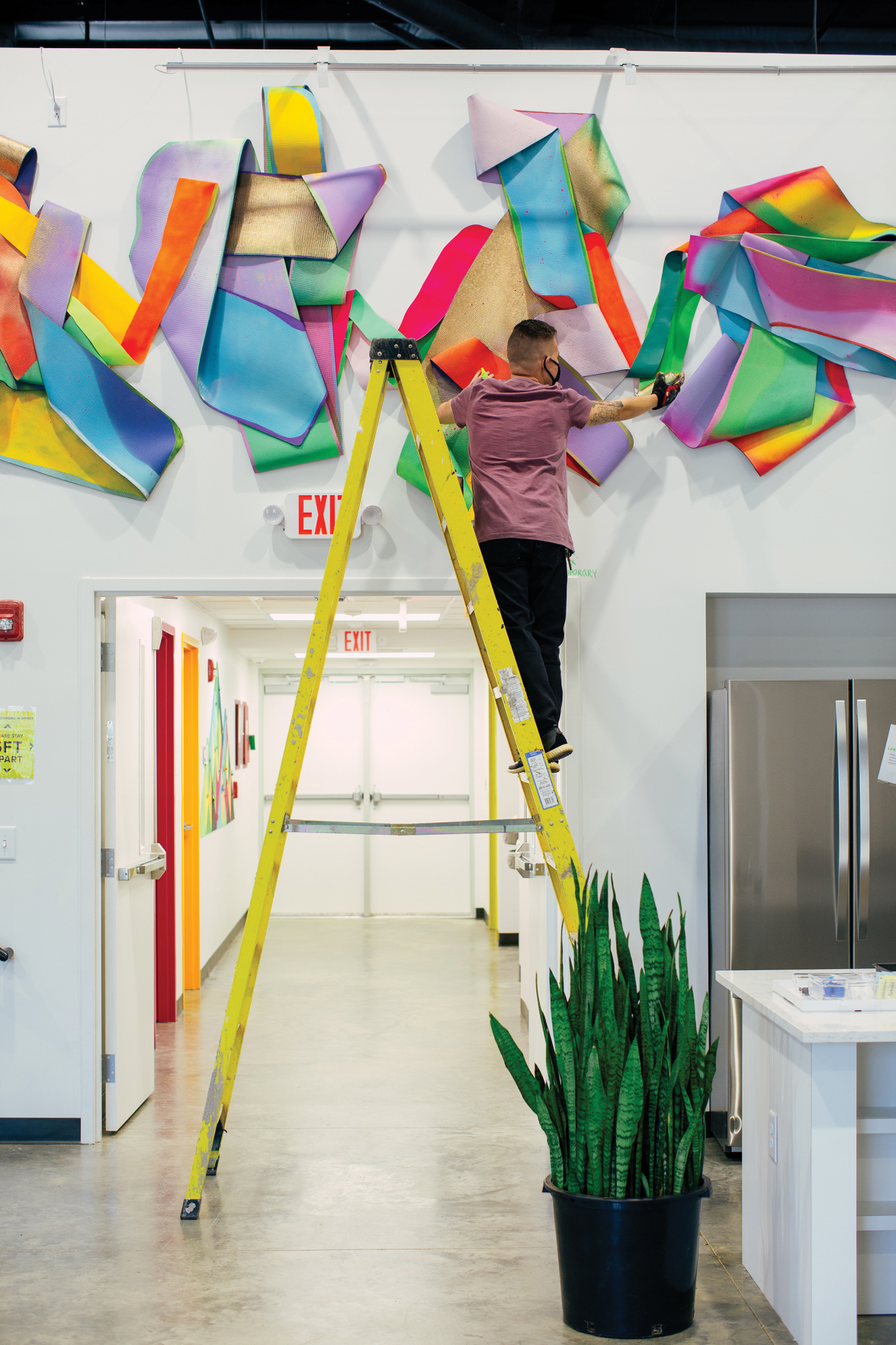Artwork at New TIRRC Headquarters Shows Immigrant Rights Movement's Resilience