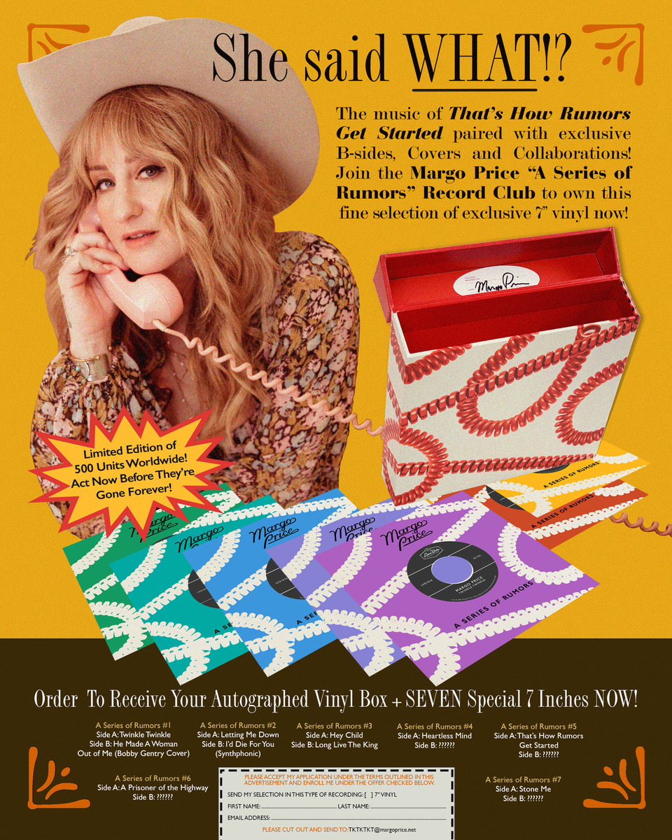 Margo Price Launches 7-Inch Series With 'Long Live the King'