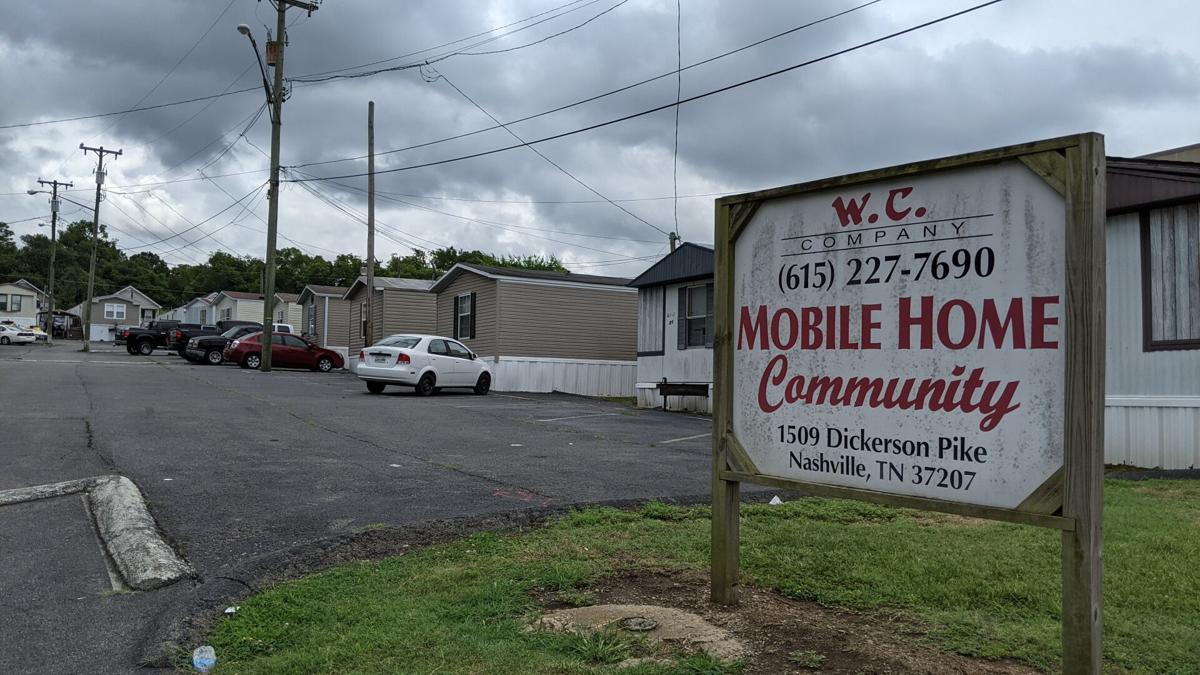 W.C. Company Mobile Home Community sign