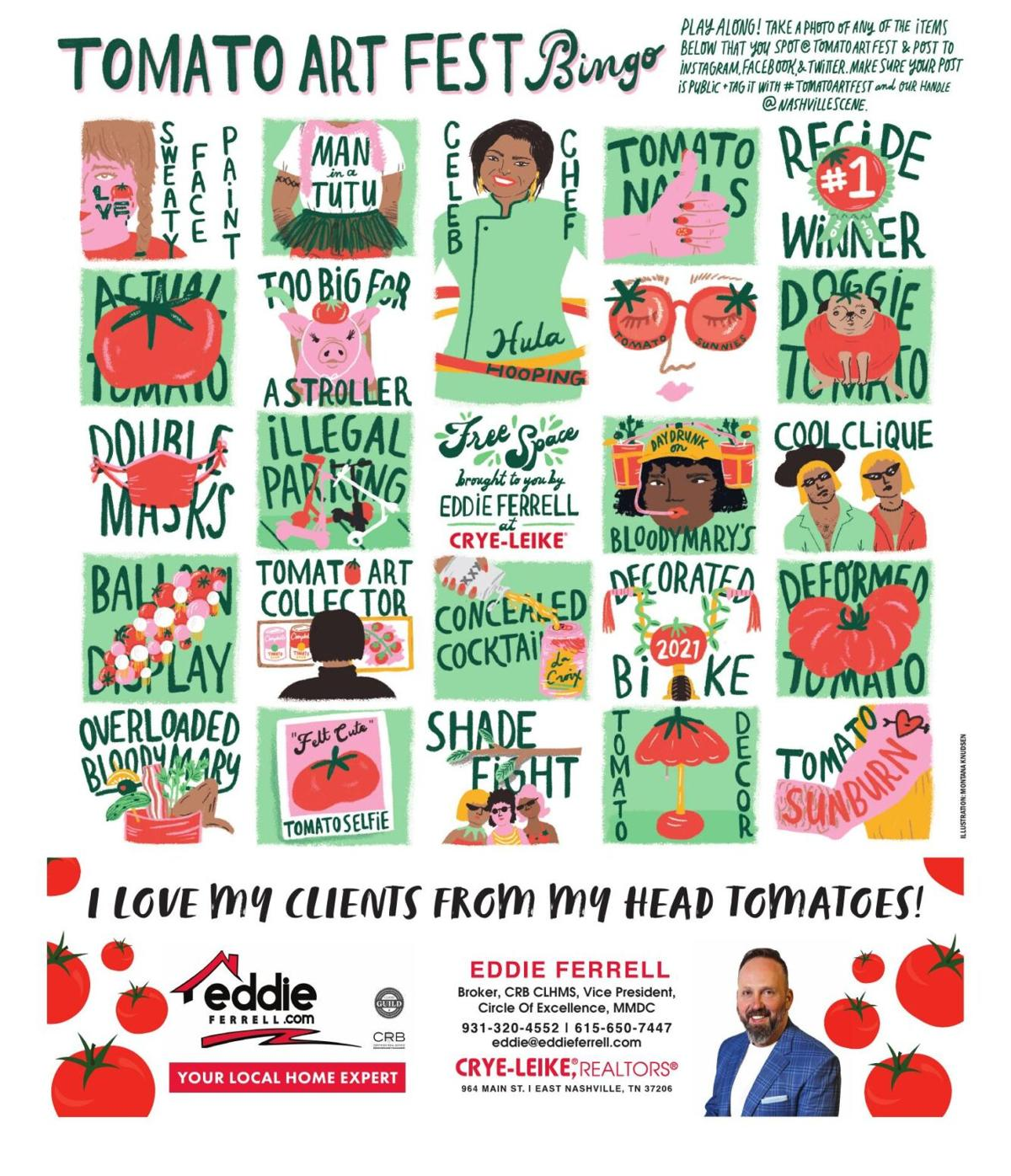 Tomato Art Fest Bingo 2021